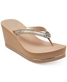 GUESS Sybell Wedge Sandals