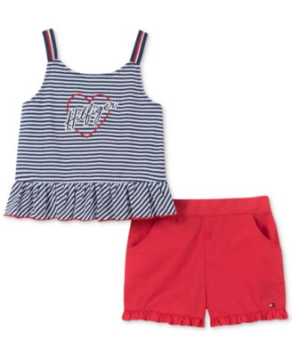 Tommy Hilfiger Girls Bustier Pack of 2