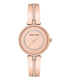 Anne Klein Sandblast Dial with Swarovski Crystals Watch