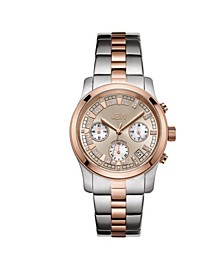 Women's Alessandra Diamond (1/5 ct.t.w.) Stainless Steel Watch