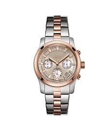 JBW Women's Alessandra Diamond (1/5 ct.t.w.) Stainless Steel Watch