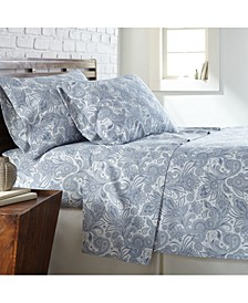 Perfect Paisley deep, Pocket Boho Sheet Set, King