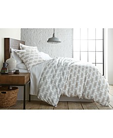 Modern Sphere Printed Duvet Cover and Sham Set, Twin/Twin XL