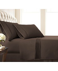 "Southshore Fine Linens Classy Pleated 21"" Extra deep, Pocket Sheet Set, Full"