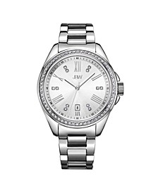 Women's Capri Diamond (1/8 ct.t.w.) Stainless Steel Watch