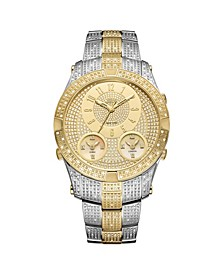 Men's Jet Setter III Diamond (1 ct.t.w.) Stainless Steel Watch