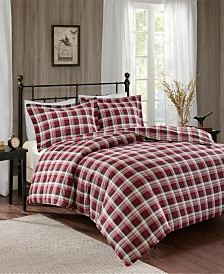 Woolrich Tasha Queen 3 Piece Flannel Duvet Mini Set