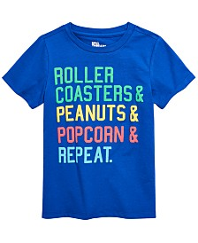 Epic Threads Little Boys Repeat T-Shirt, Created for Macy's