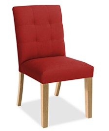 Tufted Dining Chair, Quick Ship
