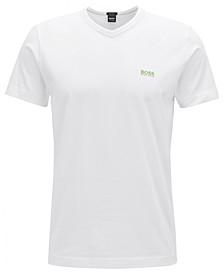 BOSS Men's Teevn Regular-Fit V-Neck Cotton T-Shirt