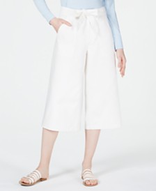OAT Patch-Pocket Culotte Jeans