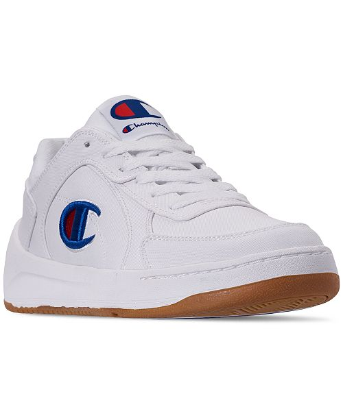 83187c9c53e ... Champion Men s Super Court C Low Casual Sneakers from Finish Line ...