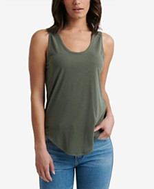 Lucky Brand Sandwash Sleeveless Scoop-Neck Tank