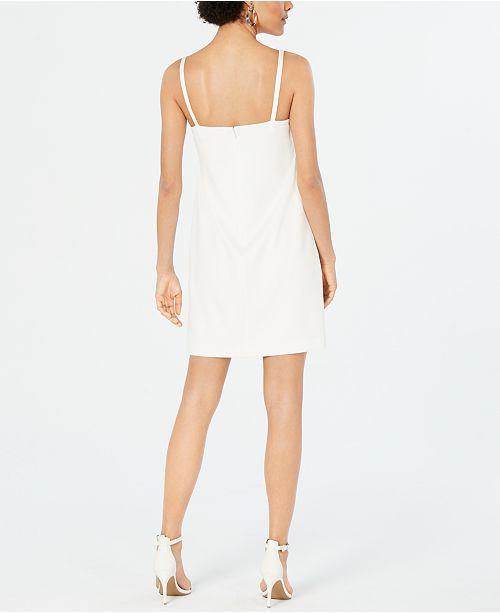 Fourreau Johnson Robes Robe BowAvis Petites Betsey Blanc Petite jARc35q4L