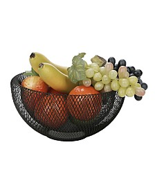 Mind Reader Small Mesh Fruit Bowl