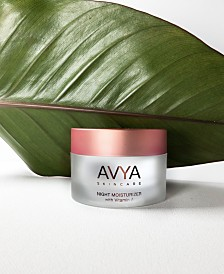 AVYA Skincare Night Moisturizer with Vitamin A