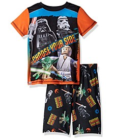 Lego Star Wars Little Boys 2 Piece Short Pajamas Set