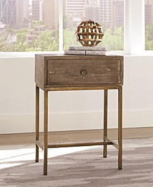 Lawton Rectangular Accent Table Weathered