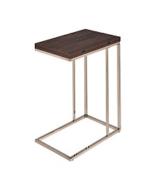 Welch Snack Table with Expandable Rotating Top