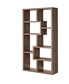 Joliet 8-Shelf Staggered Bookcase