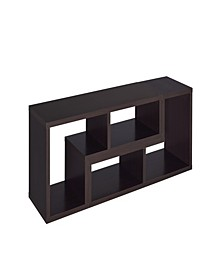 Lake Convertible TV Console and Bookcase Combination