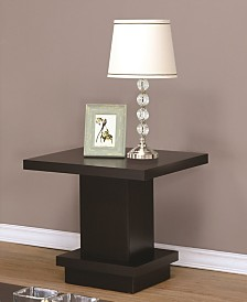 Crispino Pedestal End Table