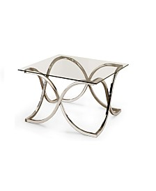 Claudio Coffee Table with Tempered Glass Top