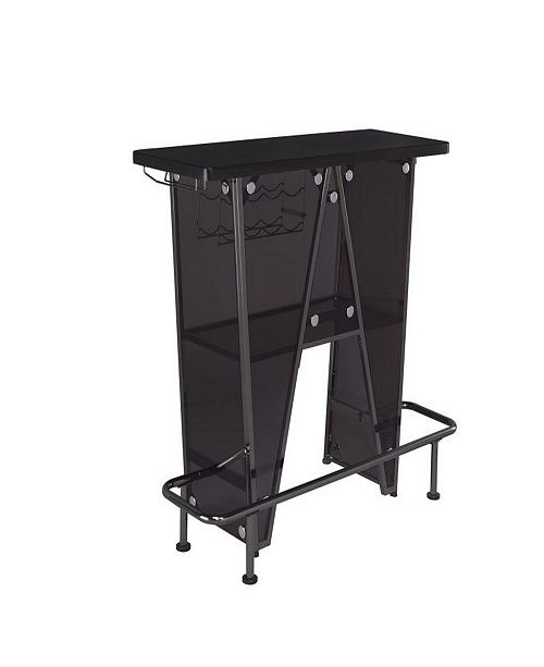 Coaster Home Furnishings Cael 1-Tier Bar Unit