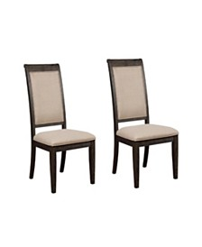 Beth Side Chairs Burnished (Set of 2)