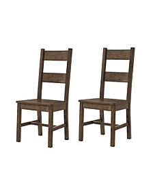 Bellino Dining Side Chairs Rustic (Set of 2)