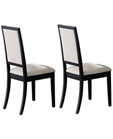 Andrew Upholstered Dining Side Chairs (Set of 2)