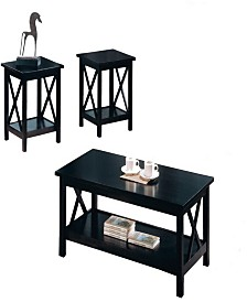 Alek 3-Piece Occasional Table Set