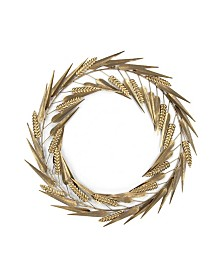 Laddies Gold Metal Wreath