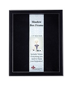 "790011 Black Wood Shadow Box Picture Frame - 11"" x 14"""