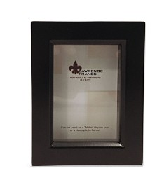 "Lawrence Frames 795023 Black Wood Treasure Box Shadow Box Picture Frame - 2.5"" x 3.5"""