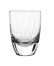 Qualia Glass Breeze Double Old Fashioned Glasses, Set Of 4