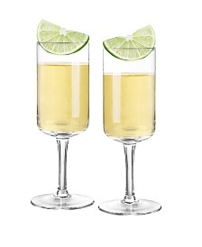 Qualia Glass Tequila Glasses, Set Of 2