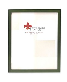 """Green Wood Picture Frame - Gallery Collection - 8"""" x 10"""""""