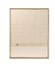 "Simply Gold Metal Picture Frame - 8.5"" x 11"""
