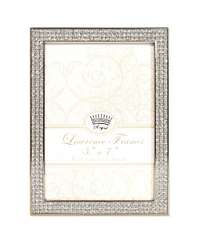 "Lawrence Frames Turner Gold and Glitter Metal Picture Frame - 5"" x 7"""