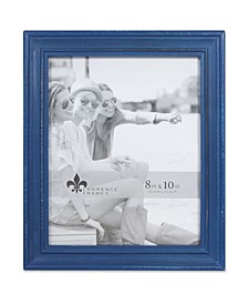 """Durham Weathered Navy Blue Wood Picture Frame - 8"""" x 10"""""""