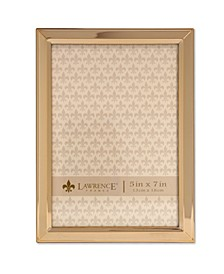"Gold Metal Picture Frame - Classic Bevel - 5"" x 7"""