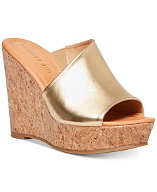 Madden Girl Nuriel Cork Wedges