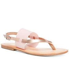 Madden Girl Sienna Vinyl Sandals