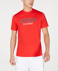 Armani Exchange Men's Logo Graphic T-Shirt Created For Macy's