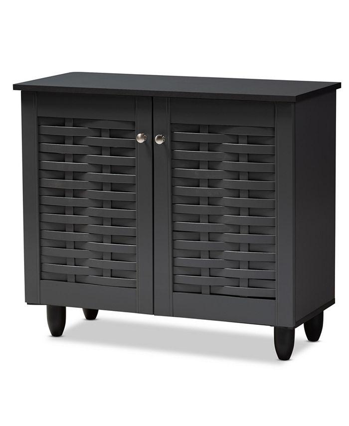 Furniture - Winda 2-Door Cabinet, Quick Ship