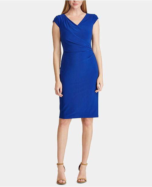 Lauren Ralph Lauren Ruched Dress