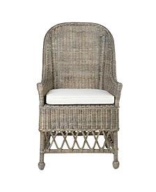 East At Main's Marietta Rattan Accent Chair