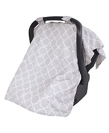 Hudson Baby Reversible Car Seat Canopy, One Size