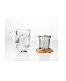 La Rochere 14 oz Tea Mug and Filter